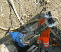 Work on operational drilling