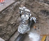 Work on water pipes